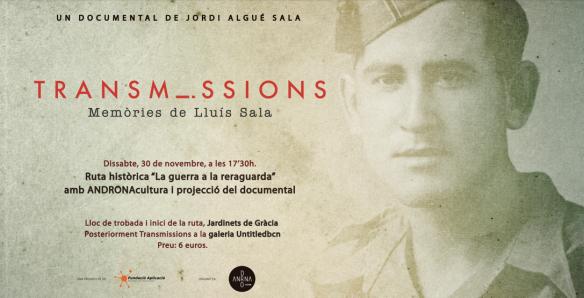 DOCUMENTAL TRANSMISSIONS DE JORDI ALGUÉ SALA