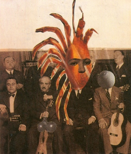 Les pianiste masqué Remedios Varo